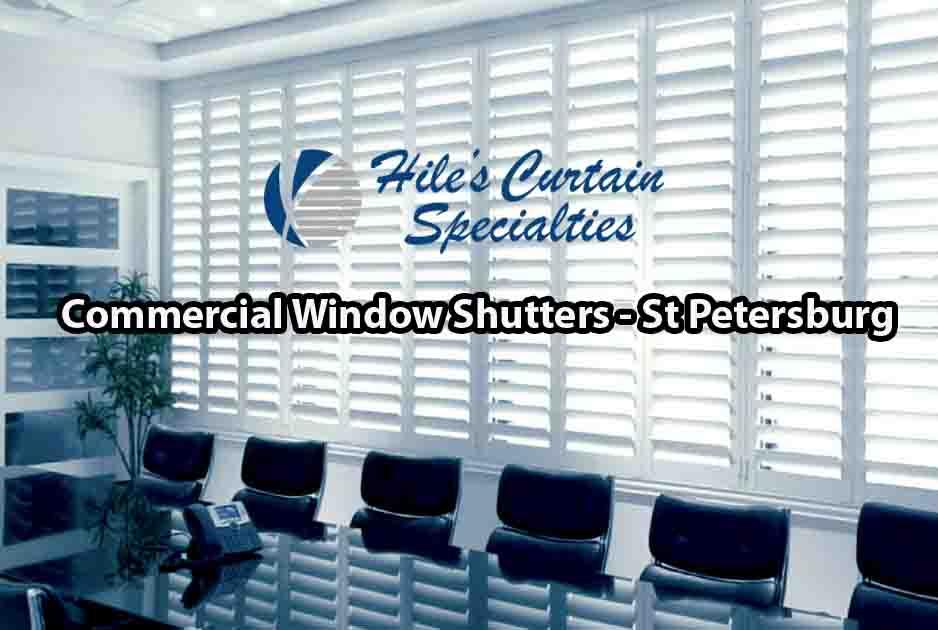 Commercial Window Shutters - St Petersburg