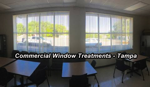 Commercial Window Treatments - Tampa 1