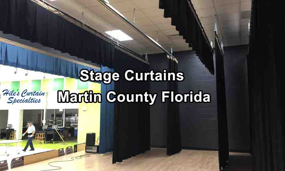 Stage Curtains - Martin County Florida