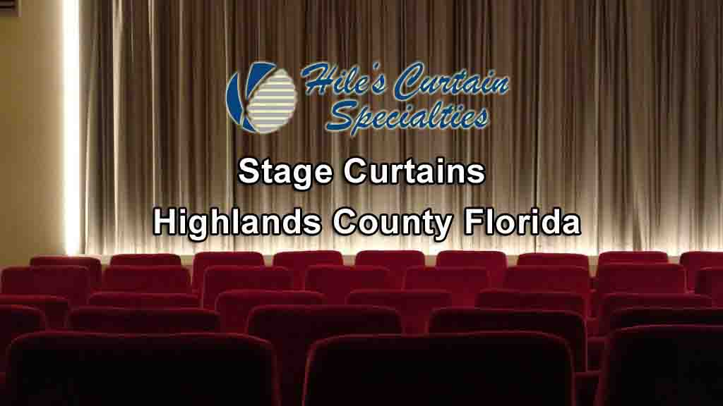Stage Curtains - Highlands County Florida
