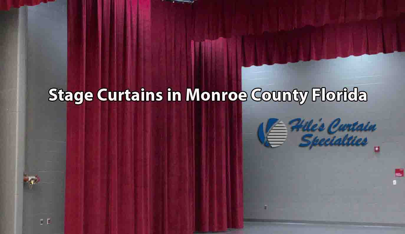 Stage Curtains - Monroe County Florida
