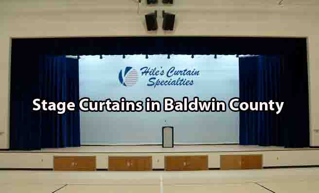 Stage Curtains - Baldwin County AL