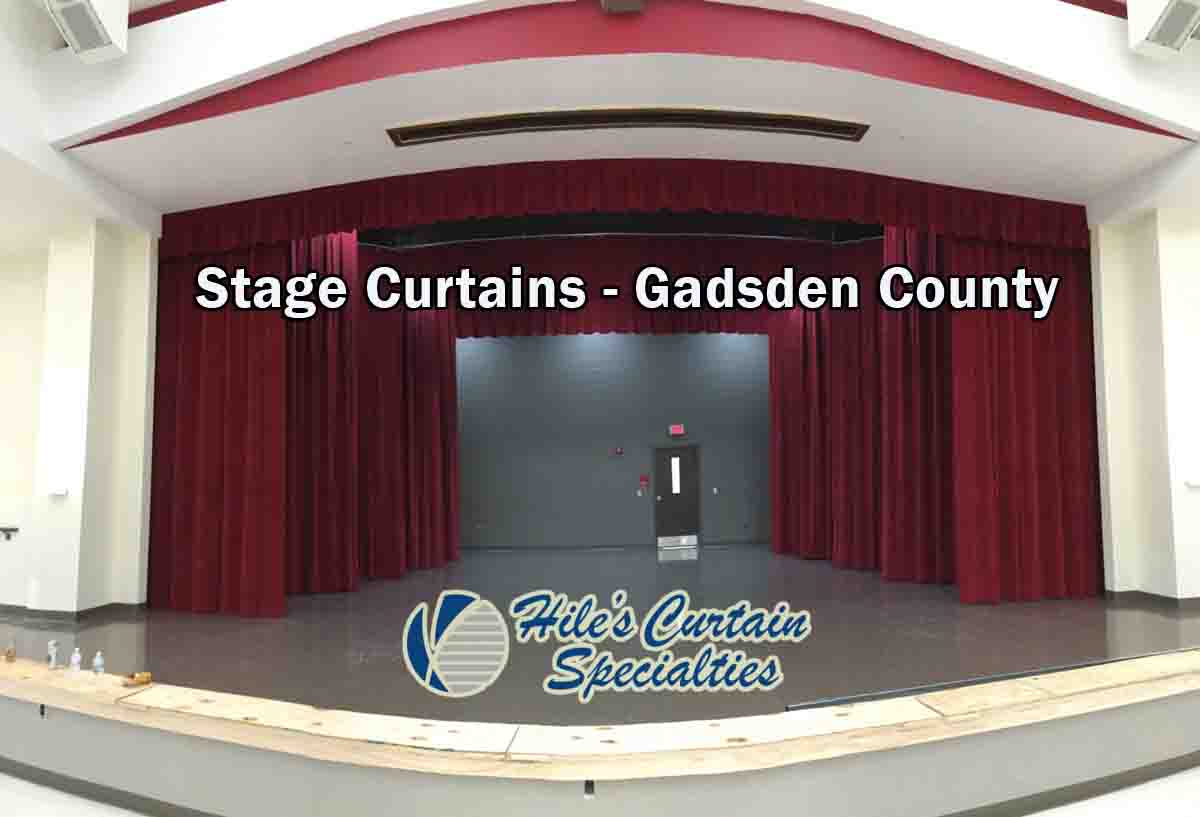 Stage Curtains Gadsden County Hiles Curtains Specialties
