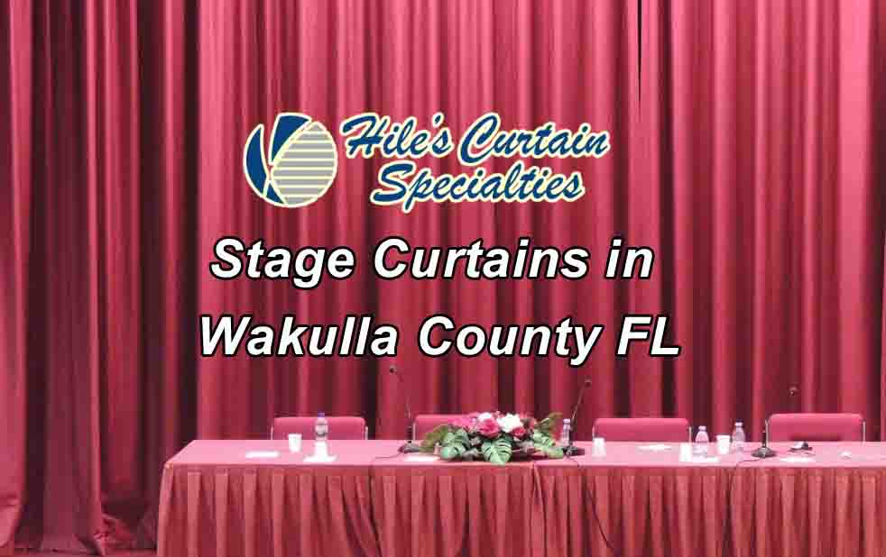 stage curtains wakulla county