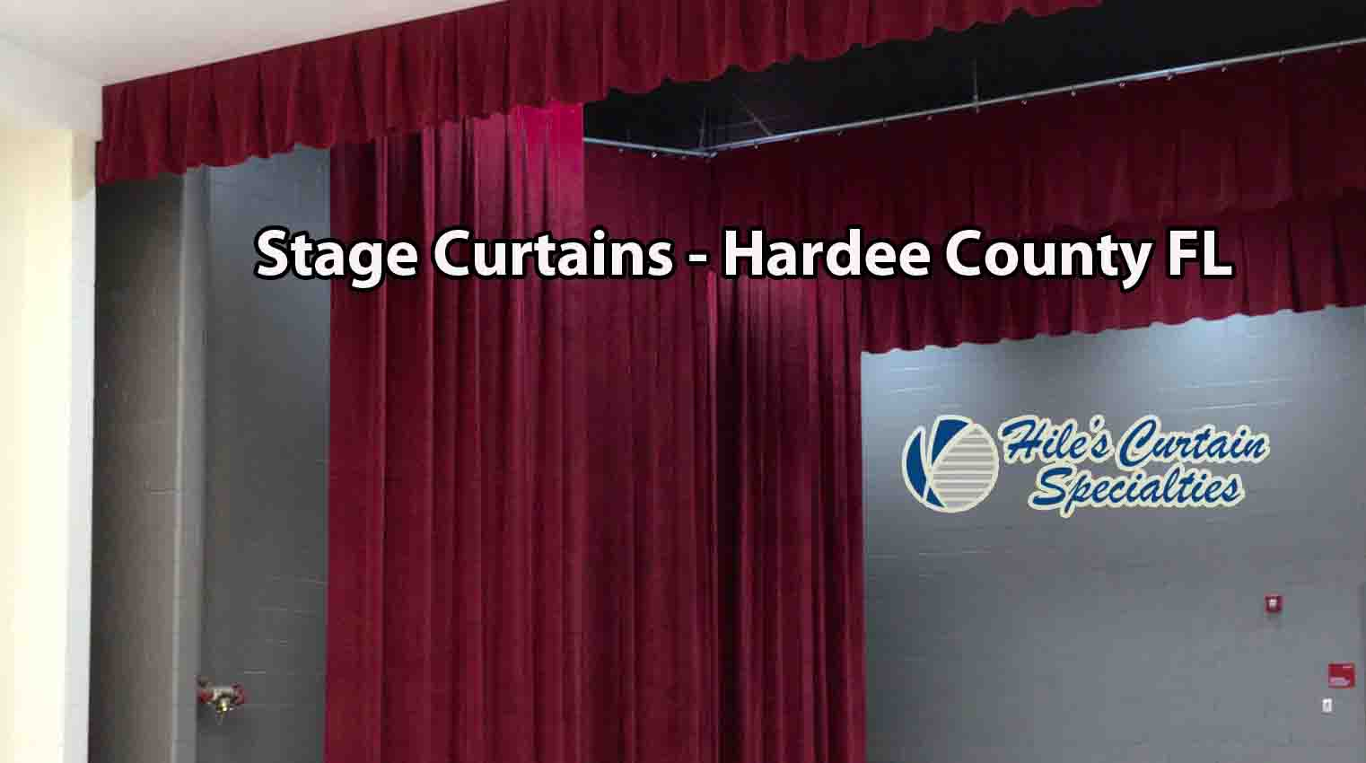 Stage Curtains Hardee County Florida Hiles Curtains