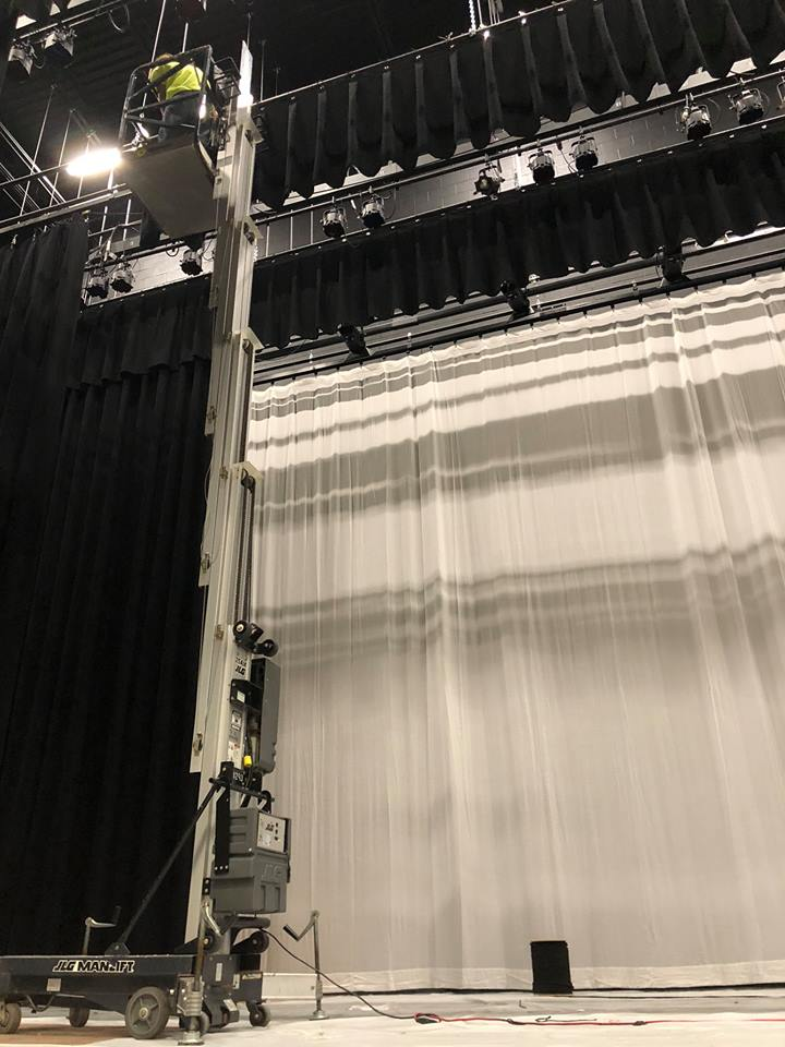 Stage Curtains - Holmes County FL