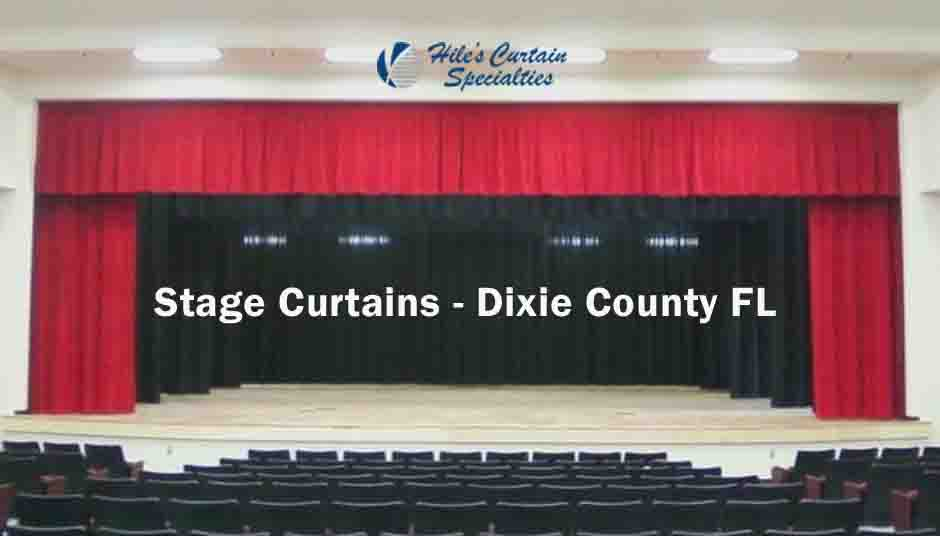 Stage Curtains - Dixie County Florida